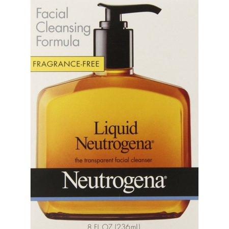 Neutrogena Fragrance Free Liquid, Facial Cleansing Formula, 8 Ounce : Facial Cleansing Products - Free 8 Ounce Fragrance