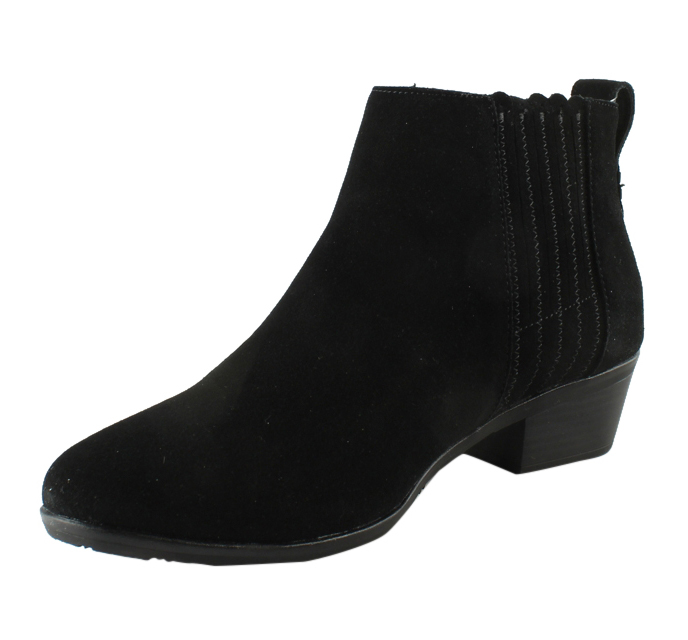 Jack Rogers Womens  BlackSuede Ankle Boots Size 11 New