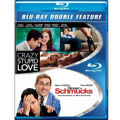 Crazy Stupid Love / Dinner For Schmucks (Blu-ray)