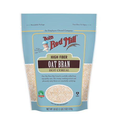 Bob's Red Mill Hot Cereal, Oat Bran, 40 Ounce