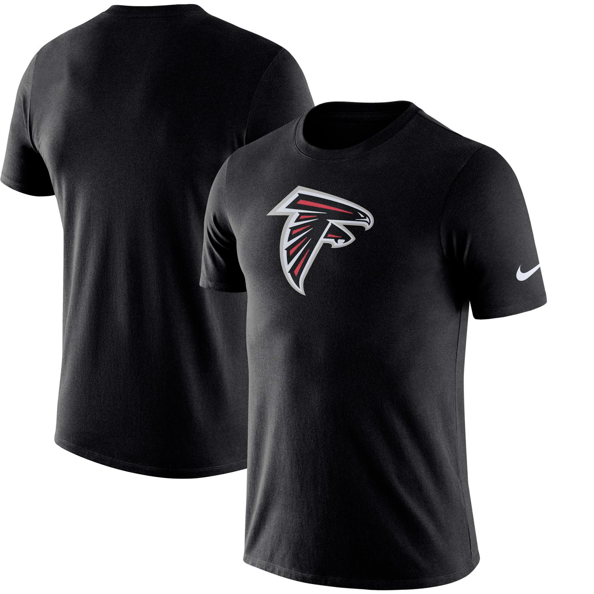 Atlanta Falcons Nike Essential Logo Performance T-Shirt - Black