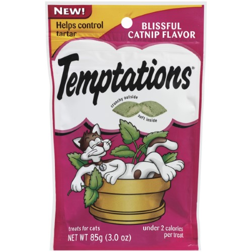 Temptations Blissful Catnip Cat Treats (Pack of 10)