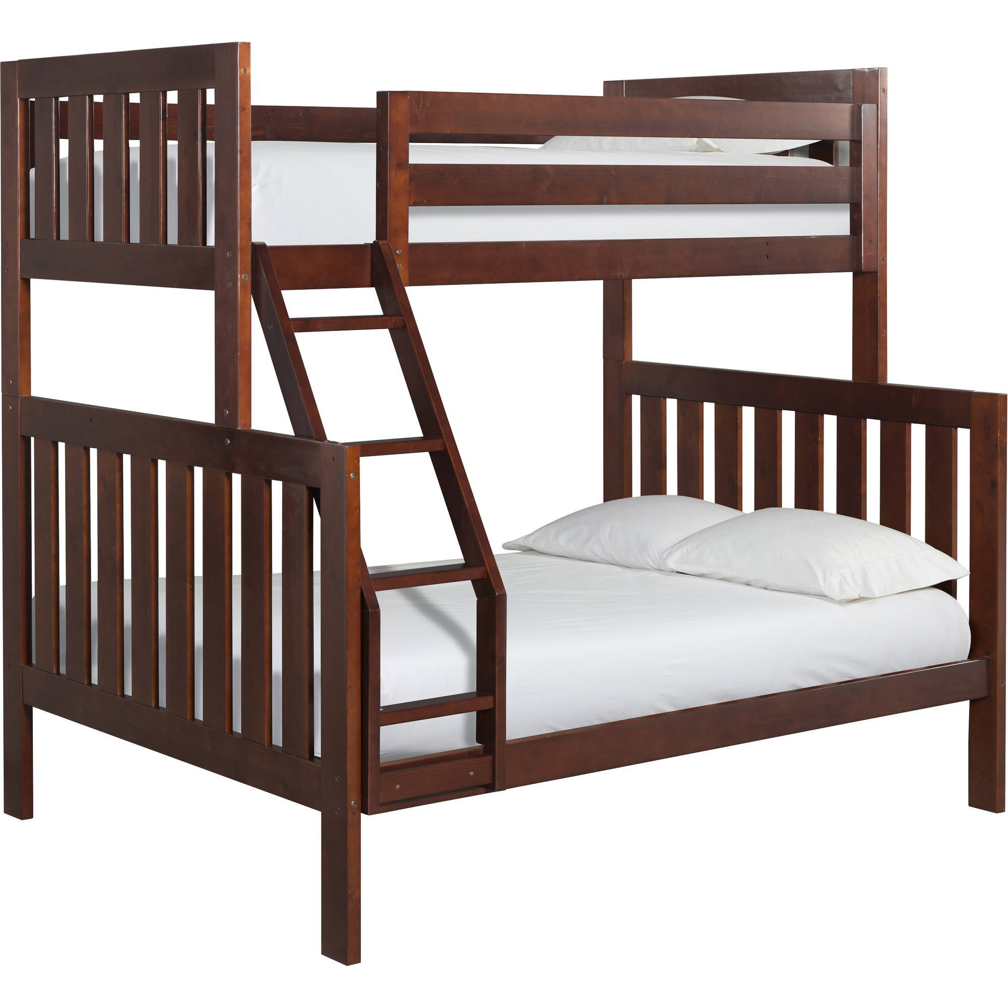 Canwood Lakecrest Twin Over Full Bunk Bed, Cherry