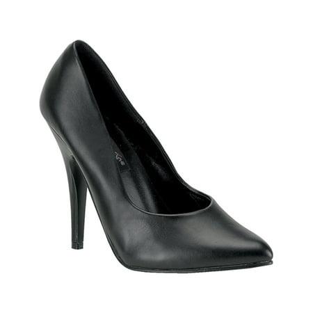 5 Inch Sexy High Heel Shoe Women's Dress Shoes Classic Pump Shoes - 5 Inch Black Pumps