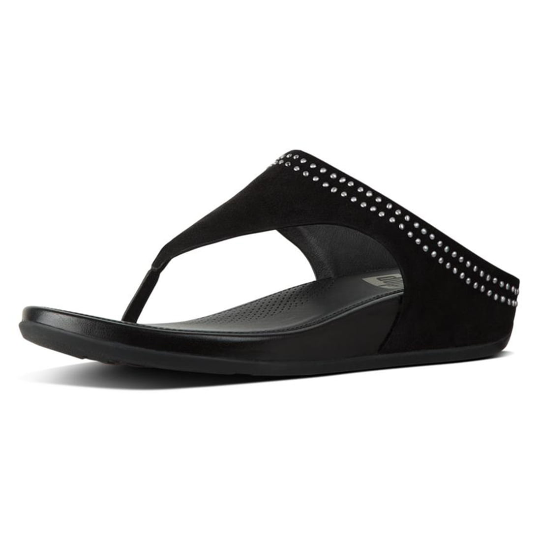 FitFlop Womens Banda Suede with Studs