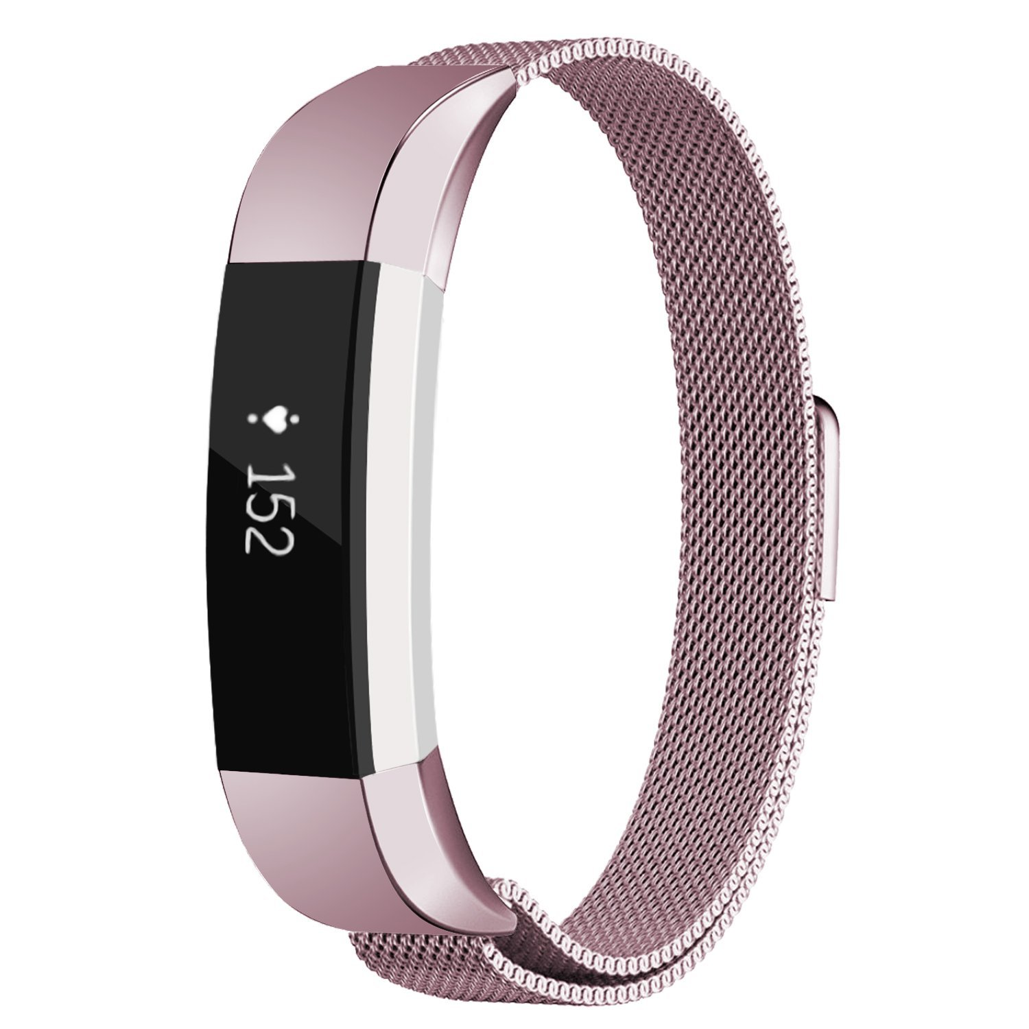 Replacement bands Metal Wristband Strap with Magnetic Closure Clasp for Fitbit Alta / Fitbit Alta HR Fitness Tracker