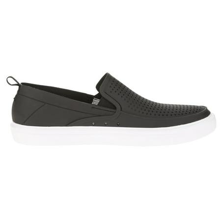george  george men's casual perforated slipon shoe