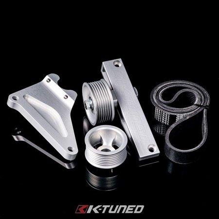 Eliminator Kit - K-Tuned Universal A/C P/S Eliminator Delete Kit K20 K20a K20z1 K20z3 K24 K24a2 KP-UNV-385