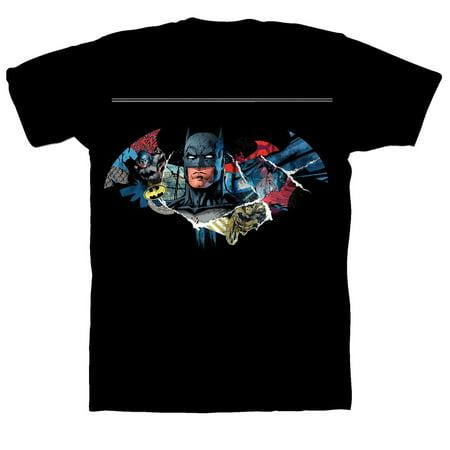 Batman Short Sleeve Graphic Tee (Little Boys & Big Boys)](Boys Batman Converse)