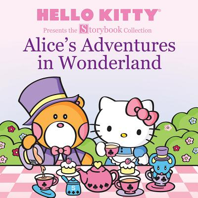 Hello Kitty Presents the Storybook Collection: Alice's Adventures in Wonderland - Halloween Hello Kitty Color Pages