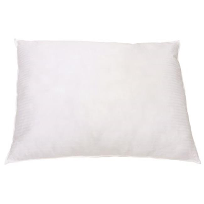 Ganesh Mills 3572243 Oxford Gold Collection White Pillow, Standard, 20 x 26 in. - 12 Per Case - image 1 de 1