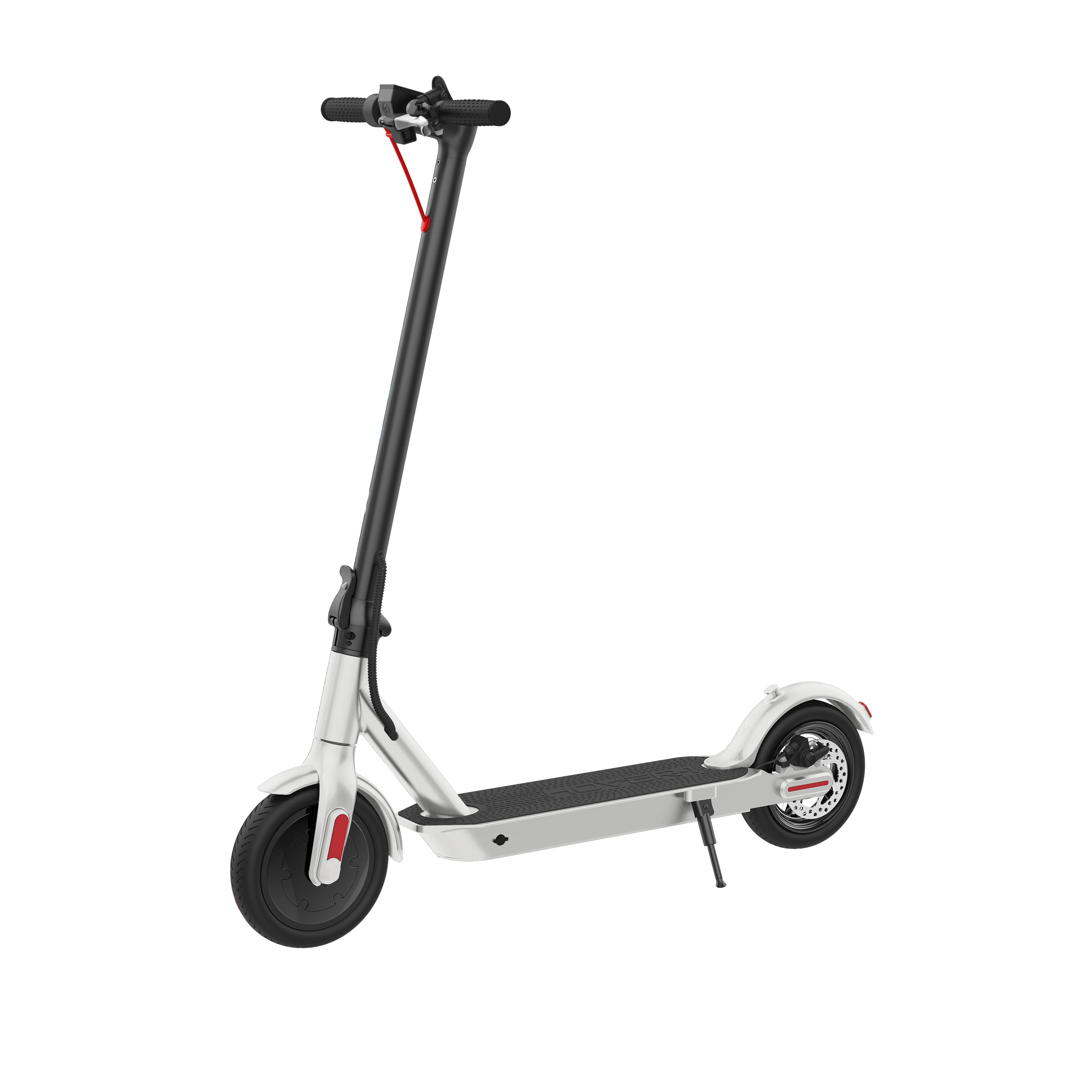"""Hover-1 Journey Folding Electric Scooter with 8.5"""" Air Filled Tires, 14 mph, White"""