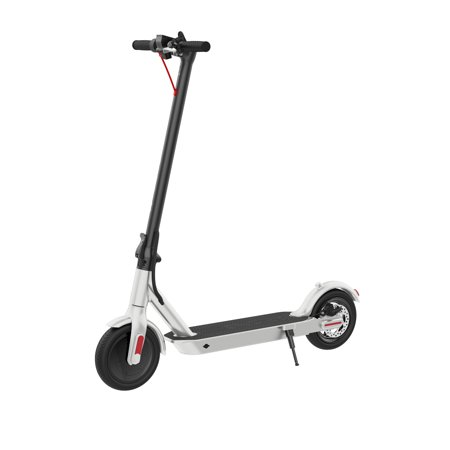 "Hover-1 Journey Folding Electric Scooter with 8.5"" Air Filled Tires, 14 mph, White"