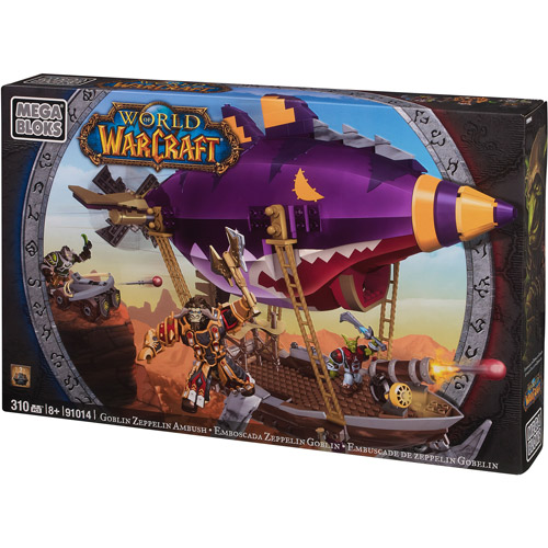 Mega Bloks World of Warcraft Goblin Zeppelin Play Set