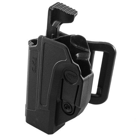 Orpaz Glock 19 Holster Fits Also Glock 17 Glock 22 Glock 26 Glock 34 Left Handed Belt