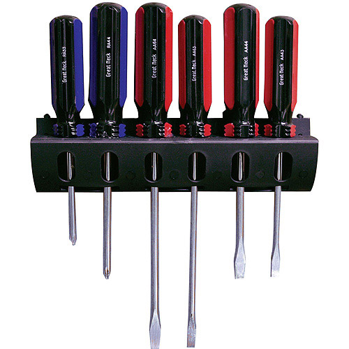 Great Neck Saw AAR6 6-Piece Slotted and Phillips Screwdriver Set