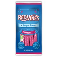 Red Vines Sugar Free Strawberry Twists, 5oz Bag