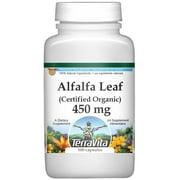 Alfalfa Leaf (Certified Organic) - 450 mg (100 capsules, ZIN: 517563)