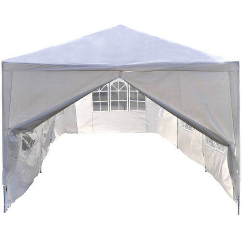 ALEKO 20' x 10' Gazebo Canopy for Outdoor Tent, White by ALEKO