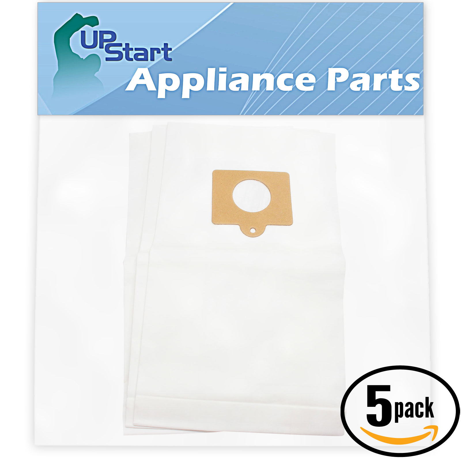15 Replacement Kenmore 20-50555 Vacuum Bags  - Compatible Kenmore 50558, 5055, 50557, Type C Vacuum Bags (5-Pack, 3 Bags Per Pack)