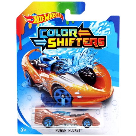 - Hot Wheels Color Shifters Power Rocket Die-Cast Car