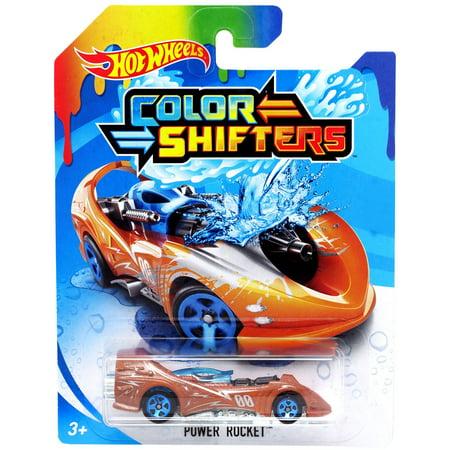 Hot Wheels Color Shifters Power Rocket Die-Cast Car