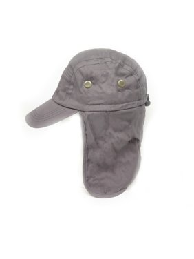 Product Image Magg Mens Fishing Boating Hiking Army Military Snap Brim Ear  Neck Cover Sun Flap Cap 88601ceef5c4