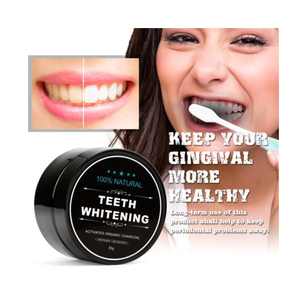 100 Organic Coconut Activated Charcoal Natural Teeth Whitening Powder Venicare Brand Walmart Com Walmart Com