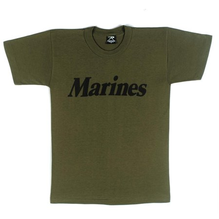 Marines Olive Drab Physical Training (New Olive Drab Marines T-shirt)