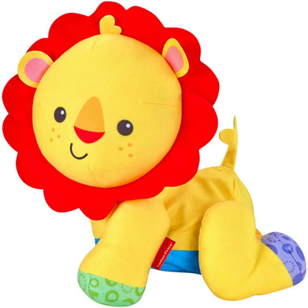 Fisher-Price Touch 'n Crawl Lion - Fisher Price Animals Of The Rainforest