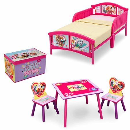 Nick Jr. PAW Patrol - Skye and Everest - Room-in a Box with BONUS Table & Chairs Set