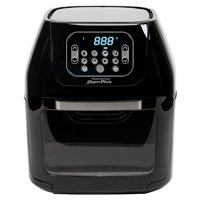 Refurbished Power CM-003 6-Quart AirFryer Oven Plus, Black