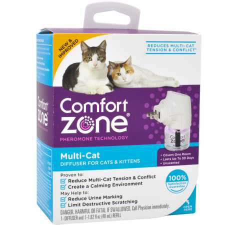 Farnam Pet-Comfort Zone Multi-cat Diffuser Ecomm 1 Pack
