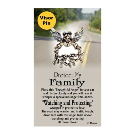Thoughtful Little Angels 9234 Protect My Family Pin