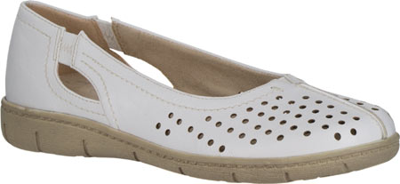 Easy Street Tobago N S Round Toe Synthetic Flats by Easy Street