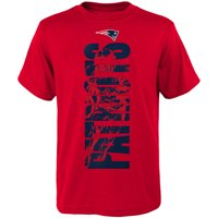 654c2c5b8 Product Image Youth Red New England Patriots Side T-Shirt