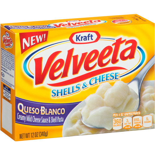 Kraft Queso Blanco Velveeta Shells & Cheese, 12 oz