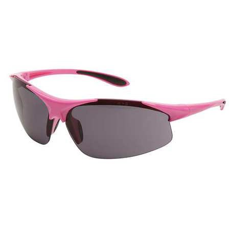 Erb Safety Glasses - ERB SAFETY Safety Glasses, Smoke 18619