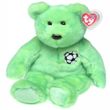 1 X TY Beanie Buddy - KICKS the Soccer Bear ()