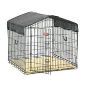 Lucky Dog; Travel Dog Kennel - 40L x 40W x 36H in.