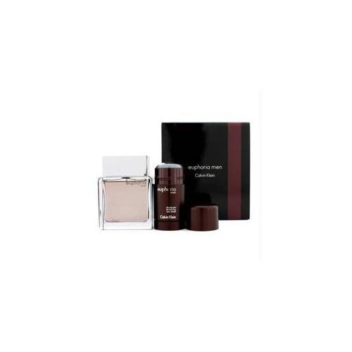 Calvin Klein 14835684014 Euphoria Travel Edition Coffret- Eau De Toilette Spray 100ml-3. 4oz plus Deodorant Stick 75g-2. 6