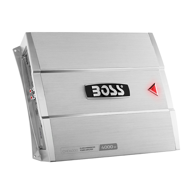 Boss CHAOS EXXTREME 4000 Watts Class D Monoblock Power Amplifier Remote Subwoofer Level