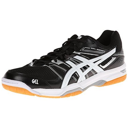 Asics Mens Gel-Rocket 7 Mesh Colorblock Volleyball Shoes