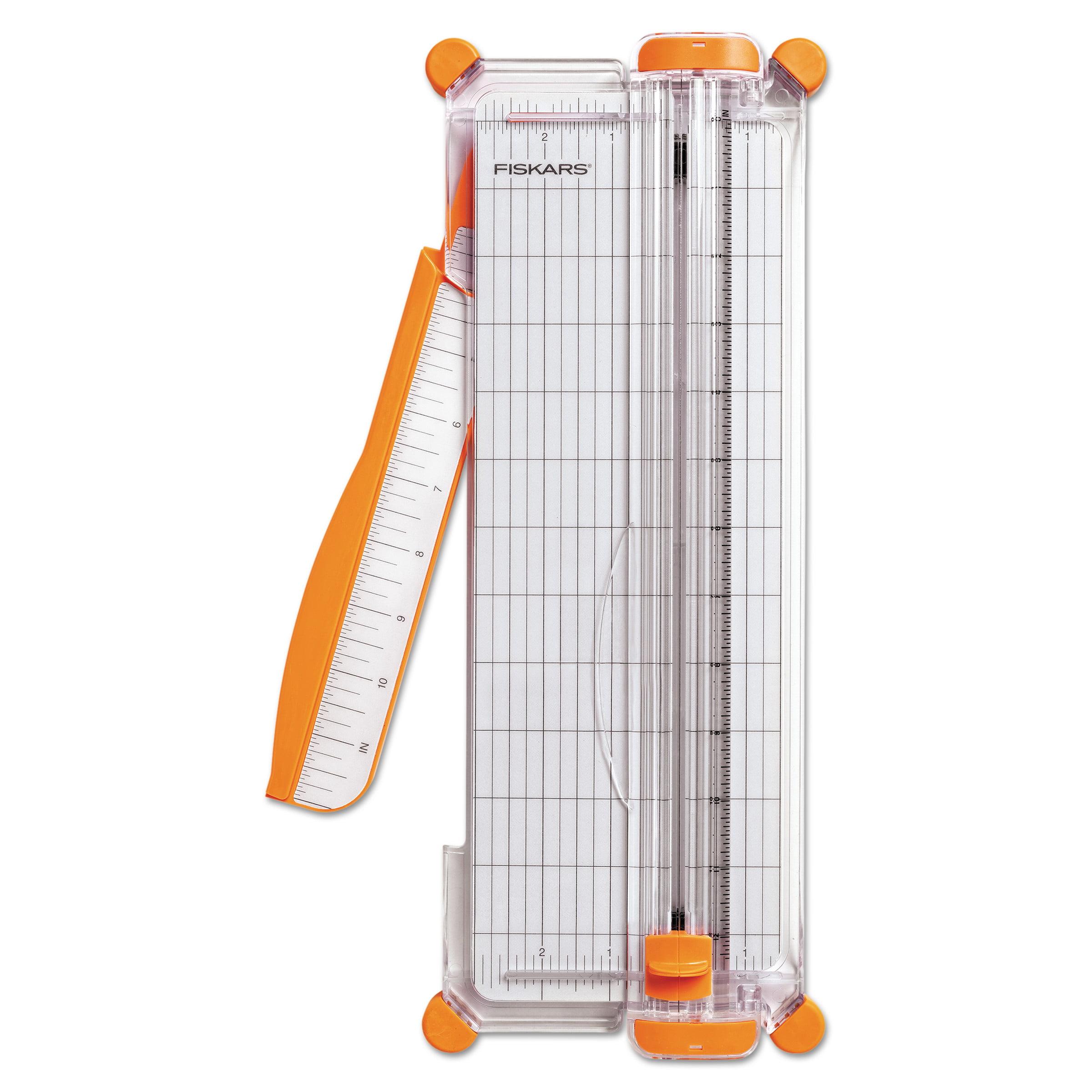 "Fiskars Personal Paper Trimmer, 5 Sheets, 12"" Cut Length -FSK1775501001"