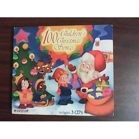 100 Children's Christmas Songs By 100 Children's Christmas Songs (Artist) Format: Audio - Best Children's Halloween Songs