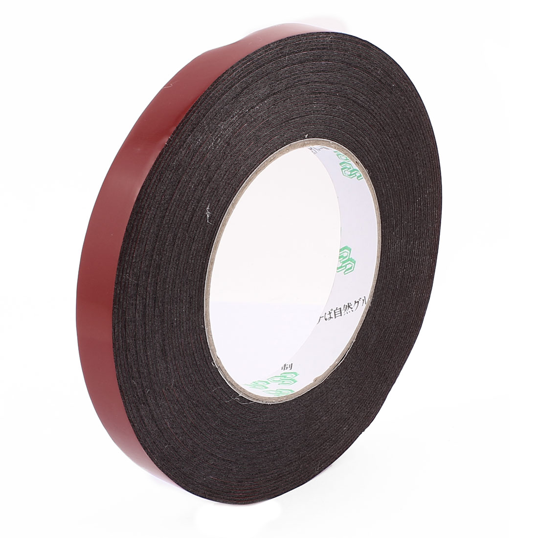 1.5CM Width 10M Length 1MM Thick Dual Sided Sealing Shockproof Sponge Tape Black