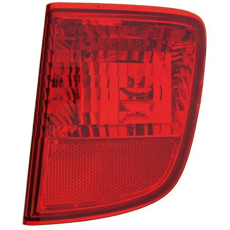 - 08-14 Toyota Land Cruiser/LX-570 Rear Passenger Side Bumper Reflector