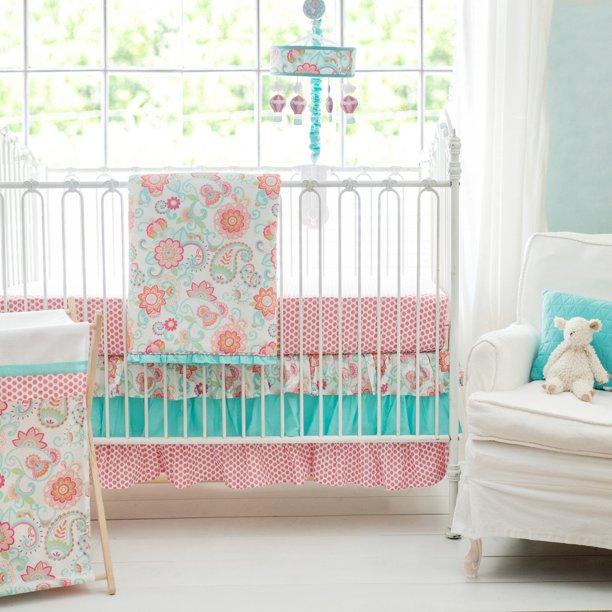 3 Piece Crib Bedding Set By My Baby Sam