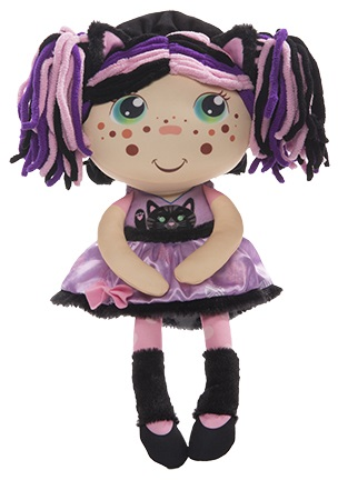 FLIP ZEE GIRLS 4 PACK-FLIP FROM BIG GIRL TO BABY AND BACK--PINK DARK PINK HAIR