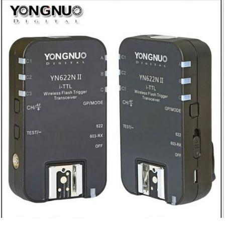 Yongnuo YN622NII YN622 YN622N TTL Wireless Flash Trigger 2 Transceivers for - Wireless Trigger